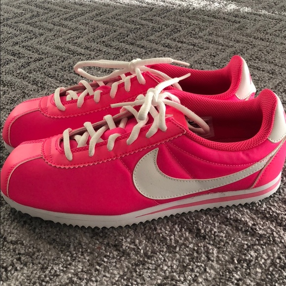 Nike Shoes | Hot Pink Nike Cortez